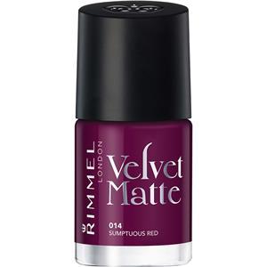 Rimmel London - Nägel - Velvet Matte Nailpolish