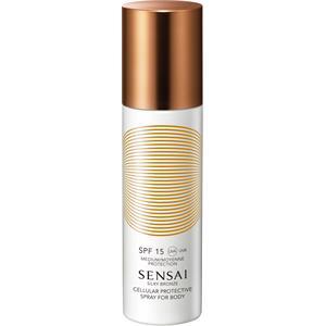 SENSAI - Silky Bronze - Cellular Protective Spray For Body SPF 15