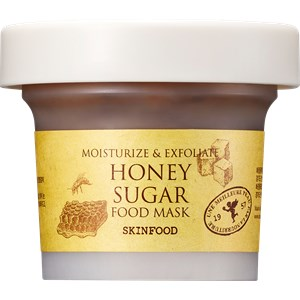 SKINFOOD - Masken - Moisturize & Exfoliate Honey Sugar Mask