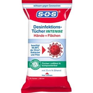 SOS - Desinfektion - Desinfektions-Tücher