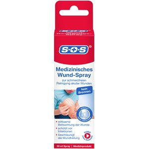 SOS - Wundversorgung - Medizinisches Wund-Spray