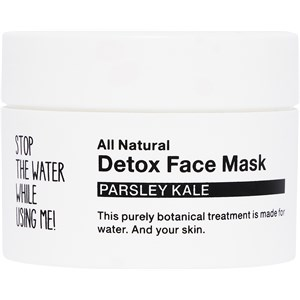 STOP THE WATER WHILE USING ME! - Gesichtspflege - Parsley Kale Detox Face Mask