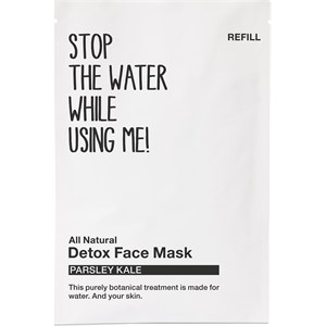 STOP THE WATER WHILE USING ME! - Facial care - Parsley Kale Detox Face Mask Refill
