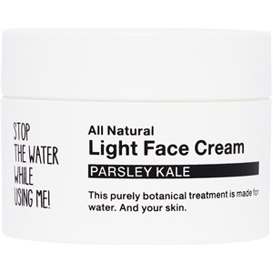 STOP THE WATER WHILE USING ME! - Gesichtspflege - Parsley Kale Light Face Cream