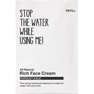 STOP THE WATER WHILE USING ME! - Gesichtspflege - Parsley Kale Rich Face Cream Refill