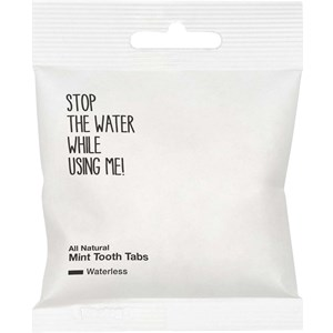 STOP THE WATER WHILE USING ME! - Dental care - All Natural Waterless Mint Tooth Tabs