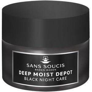 Sans Soucis - Deep Moist Depot - Schwarze Nachtpflege Creme