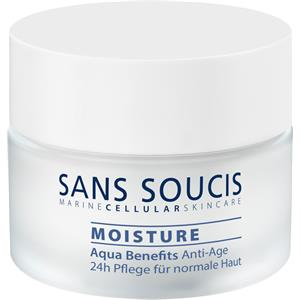 Sans Soucis - Moisture - Aqua Benefits Anti-Age 24h Care for dry skin