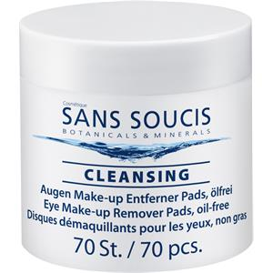 Sans Soucis - Reinigung - Eye Make-up Remover Pads oil-free