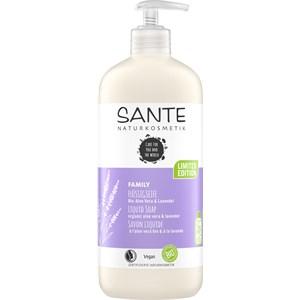 Sante Naturkosmetik - Duschpflege - Flüssigseife Lavendel
