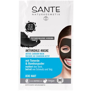 Sante Naturkosmetik - Facial care - Active Carbon Mask