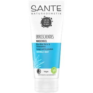Sante Naturkosmetik - Reinigung - Erfrischendes Waschgel Bio-Aloe Vera & Chiasamen