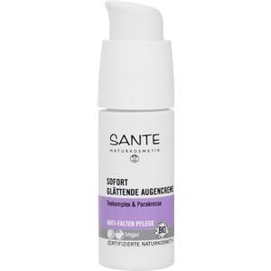 Sante Naturkosmetik - Gesichtspflege - Teekomplex & Parakresse Sofort glättende Augencreme