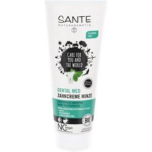 Sante Naturkosmetik - Facial care - Toothpaste Mint