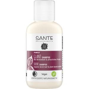 Sante Naturkosmetik - Hair care - Foglie di betulla bio e proteine vegetali Foglie di betulla bio e proteine vegetali