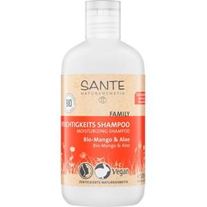 Sante Naturkosmetik - Haarpflege - Bio-Mango & Aloe Feuchtigkeits Shampoo