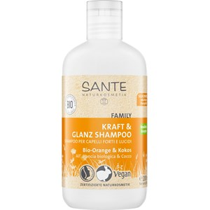 Sante Naturkosmetik - Haarpflege - Bio-Orange & Kokos Kraft & Glanz Shampoo