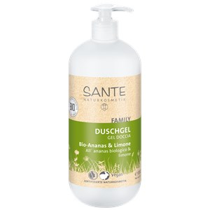 Sante Naturkosmetik - Duschpflege - Duschgel Bio-Ananas & Limone