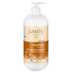 Sante Naturkosmetik - Duschpflege - Duschgel Bio-Kokos & Vanille