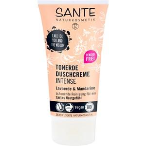 Sante Naturkosmetik - Duschpflege - Tonerde Duschcreme Intense Lavaerde & Mandarine