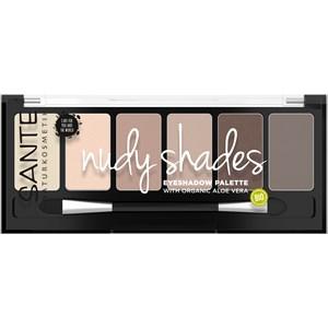 Sante Naturkosmetik - Lidschatten - Eyeshadow Palette Nude Shades