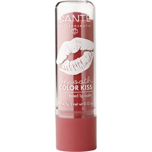 Sante Naturkosmetik - Lips - Smooth Color Kiss