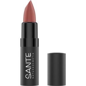 Sante Naturkosmetik - Lipsticks - Matte Lipstick