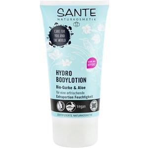 Sante Naturkosmetik - Lotionen - Hydro Bodylotion Bio-Gurke & Aloe Vera