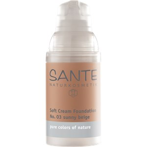 Sante Naturkosmetik - Teint - Soft Cream Foundation
