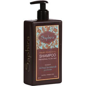 Image of Saphira Pflege Haarpflege Keratin Moisturizing Shampoo 400 ml