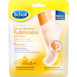 Scholl - Foot health - Intensive nourishing foot mask with 3 valuable oils