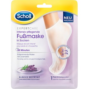 Scholl - Foot Health - Intensive nourishing foot mask with lavender oil
