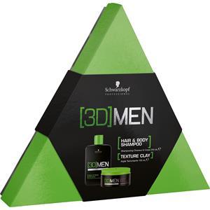 Schwarzkopf Professional - (3D) Men - Geschenkset