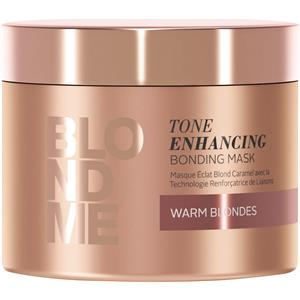Schwarzkopf Professional - Blondme - Tone Enhancing Enhance Bond Maske Warm