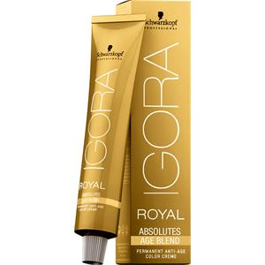 Schwarzkopf Professional - Haarfarbe/Coloration - Igora Royal Absolutes Age Blend