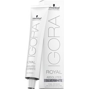 Schwarzkopf Professional - Haarfarbe/Coloration - Igora Royal Absolutes Silverwhite