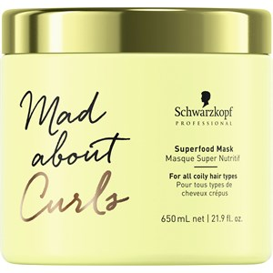 Schwarzkopf Professional - Mad About Curls - Superfood Mask