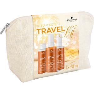 Schwarzkopf Professional BC Bonacure Sun Protect Travel Kit Shampoo 100 ml + Spray Conditioner 100 ml + Shimmer Oil 100 ml + Beauty Bag 1 Stk.