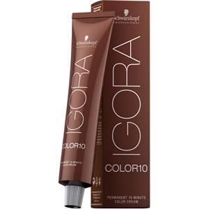 Schwarzkopf Professional Haarpflege Haarfarbe Coloration Igora Color 10 4-6 Mittelbraun Schoko