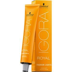 Schwarzkopf Professional Haarpflege Haarfarbe Coloration Igora Royal Fashion Lights L-77 Fashion Lights Kupfer