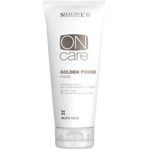 Selective Professional - On Care - Silver Gold Golden Power Mask