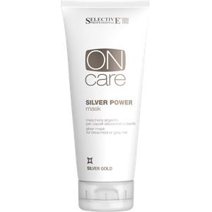 Selective Professional - On Care - Silver Gold Silver Power Mask
