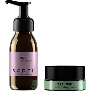 sepai-gesichtspflege-kits-oil-control-try-me-kit-mild-cleanser-exfoliating-mask-peel-mud-travel-15-g-wash-travel-40-ml-8-cotton-pads-invisib