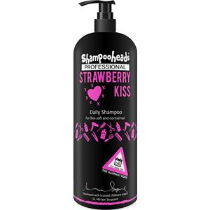 Image of Shampooheads Pflege Haarpflege Strawberry Kiss Daily Shampoo 500 ml