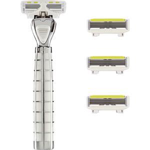 Shave Lab - Tres - Starter Set White Edition P.L.6