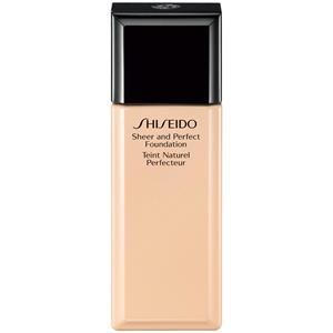 Shiseido - Gesichtsmake-up - Sheer and Perfect Foundation