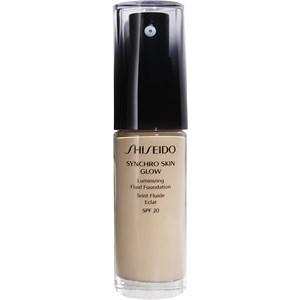 Shiseido - Maquillage pour le visage - Synchro Skin Glow Luminizing Fluid Foundation