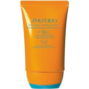 Shiseido - Beskyttelse - Protective Tanning Cream N SPF 10