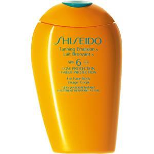 Shiseido - Schutz - Tanning Emulsion SPF 6