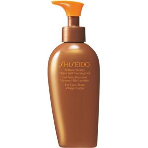Shiseido - After Sun - Brillant Bronze Quick Self Tanning Gel